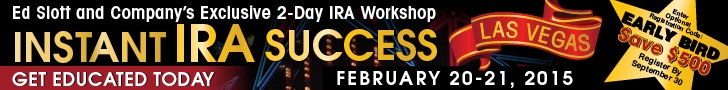 Ask Your Questions to America's IRA Experts on February 20. Learn more here