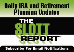 Subscribe to receive Ed Slott's latest articles in your email