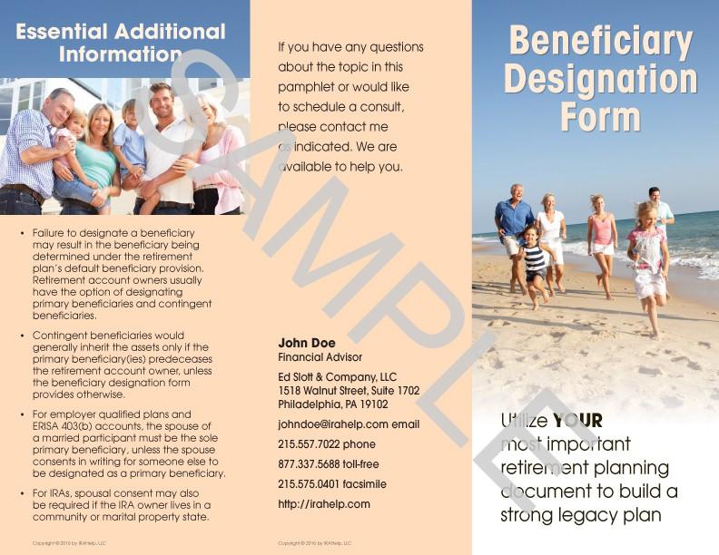 designation of beneficiary form - Vocaalensembleconfianza.nl